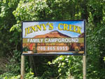 View larger image of Sign at campground entrance at JENNYS CREEK FAMILY CAMPGROUND image #9