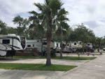 View larger image of RVs in paved sites and paved road at LAGOONS RV RESORT image #5