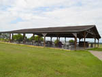 View larger image of Covered pavilion with picnic tables at BROWDERS MARINA RV PARK  CAMPGROUND image #2