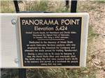 View larger image of The sign for Panorama Point at HIGH POINT RV PARK image #5