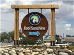 View larger image of The front entrance sign at COOL SUNSHINE RV PARK image #5