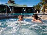 View larger image of Couple in hot tub at PECHANGA RV RESORT image #4