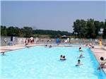 View larger image of People swimming in pool at NET CAMPING RESORT image #1