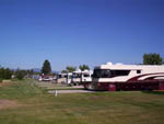 View larger image of A row of motorhomes parked on concrete RV sites at DEER PARK RV RESORT image #11