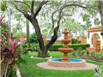 View larger image of A view of the fountain at TIP O TEXAS RV RESORT image #3