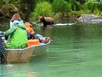 View larger image of People boating with wild animal at DIAMOND M RANCH RESORT image #4