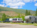 View larger image of Trailers and RVs camping at GOLD RANCH CASINO  RV RESORT image #1