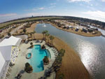 View larger image of Aerial view over campground at BELLA TERRA OF GULF SHORES image #5