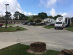 View larger image of Trailers camping at campsite at A MOTEL  RV PARK image #11