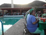 View larger image of St Patricks Day party in pool area at PHOENIX METRO RV PARK image #11