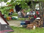View larger image of Men camping at BSC OUTDOORS CAMPING  FLOAT TRIPS image #6