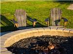 View larger image of Outside fire pit at DURANGO RV RESORT image #3