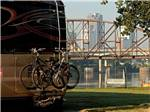View larger image of RV camping at park with view of water at DOWNTOWN RIVERSIDE RV PARK image #4