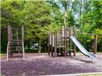 View larger image of Playground with swing set at RONDOUT VALLEY RESORT image #5