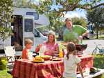 View larger image of Family camping at LAZYDAYS RV RESORT image #2