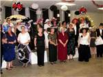 View larger image of Party in the rec room at WEKIVA FALLS RV RESORT image #4