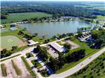 View larger image of Amazing aerial view at LEISURE LAKE RESORT image #6