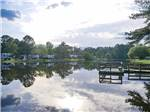 View larger image of Trailers camping on the water at OKATOMA RESORT  RV PARK image #1
