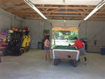 View larger image of Pool table in game room at COUNTRY OAKS CAMPGROUND image #7