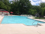 View larger image of Swimming pool at campgrounds at COUNTRY OAKS CAMPGROUND image #8