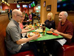 View larger image of Couples eating at the casino at LITTLE RIVER CASINO RESORT RV PARK image #10