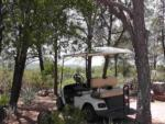 View larger image of Golf cart at campground at PAYSON CAMPGROUND AND RV RESORT image #7