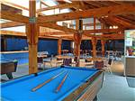 View larger image of Pool tables in game room at CAPE COD CAMPRESORT  CABINS image #3