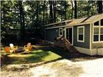 View larger image of Cabin with deck at CAPE COD CAMPRESORT  CABINS image #4