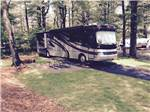 View larger image of RV parked at campsite at CAPE COD CAMPRESORT  CABINS image #7