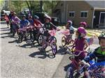 View larger image of Kids biking at CAPE COD CAMPRESORT  CABINS image #11