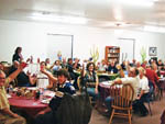 View larger image of Campers dining at MOON RIVER RV RESORT image #6