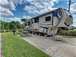 View larger image of RV and trailers camping at OUTBACK RV RESORT AT TANGLEWOOD image #2