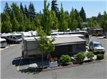 View larger image of Trailers and RVs camping at MAPLE GROVE RV RESORT image #3