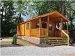 View larger image of One of the rustic camping cabins at MOUNTAIN PINES CAMPGROUND image #3