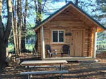 View larger image of Log cabin at PUMPKIN PATCH RV RESORT image #6