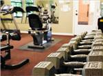 View larger image of Exercise room at WINE COUNTRY RV RESORT image #8