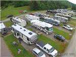 View larger image of An aerial view of the campsites at FOX DEN ACRES CAMPGROUND image #5