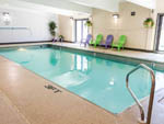View larger image of A view of the indoor pool at COTTONWOOD INN  SUITES  RV PARK image #3