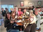View larger image of Aerial view over campground at WINE COUNTRY RV PARK image #6
