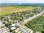 View larger image of Aerial view at BENTSEN PALM VILLAGE RV RESORT image #3