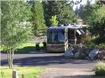 View larger image of RV parked at campsite at MCCALL RV RESORT image #1