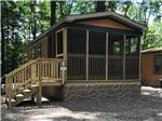 View larger image of Cabins with decks at ADIRONDACK GATEWAY CAMPGROUND image #7