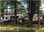 View larger image of Trailers camping at ADIRONDACK GATEWAY CAMPGROUND image #9