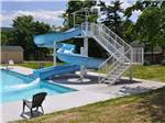 View larger image of Waterslide at TWIN GROVE RV RESORT  COTTAGES image #7
