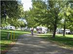 View larger image of RVs and trailers at campground at SAN BERNARDINO COUNTY REGIONAL PARKS image #5