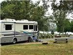 View larger image of Class A motorhome in a back in site at SAN BERNARDINO COUNTY REGIONAL PARKS image #6