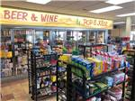 View larger image of General Store at campground with drinks and candies at HORN RAPIDS RV RESORT image #10
