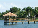 View larger image of Gazebo on the dock at PELICAN LAKE MOTORCOACH RESORT image #2