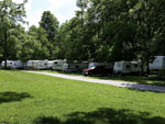 View larger image of Trailers camping at campsite at THREE SPRINGS CAMPGROUND image #2