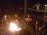 View larger image of Folks around campfire at THREE SPRINGS CAMPGROUND image #6